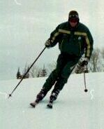 Neil Parker skiing at Deer Valley